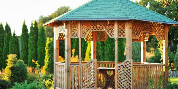 Taras czy altana ogrodowa